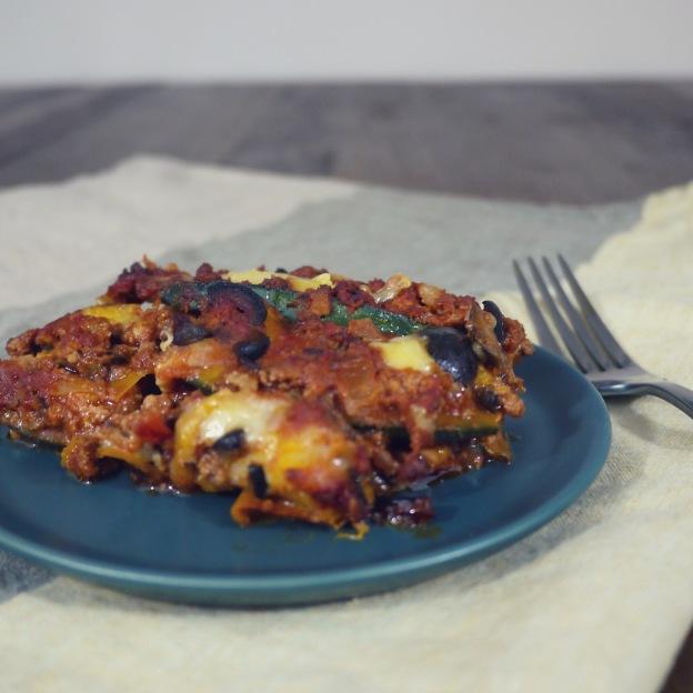 Squash Paleo Lasagna