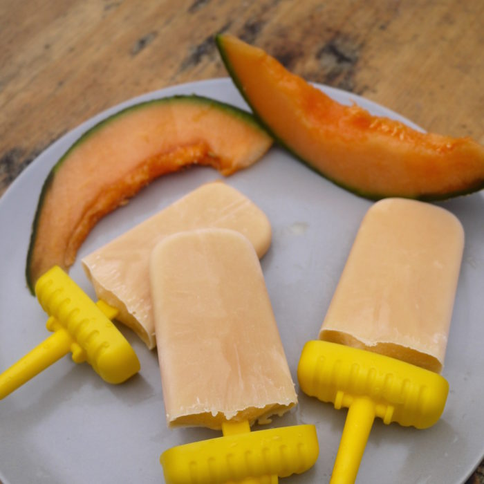 Sweet Cantaloupe Ice Pops What Great Grandma Ate Beat until sugar is dissolved. sweet cantaloupe ice pops