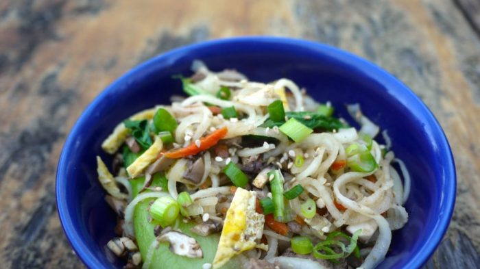 how to cook daikon radish stir fry