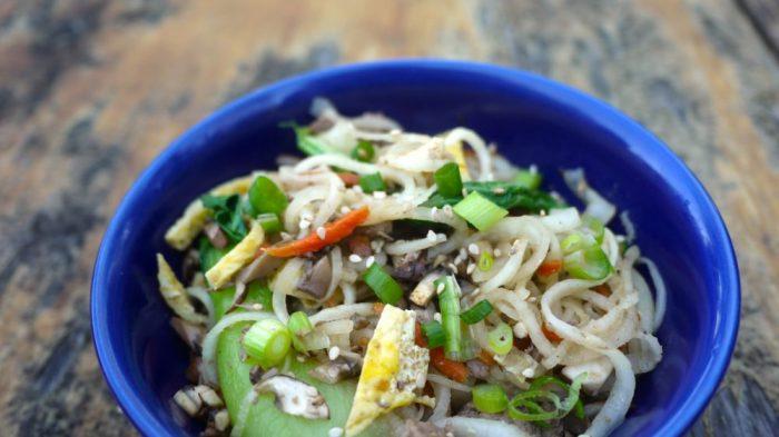 asian daikon radish noodles