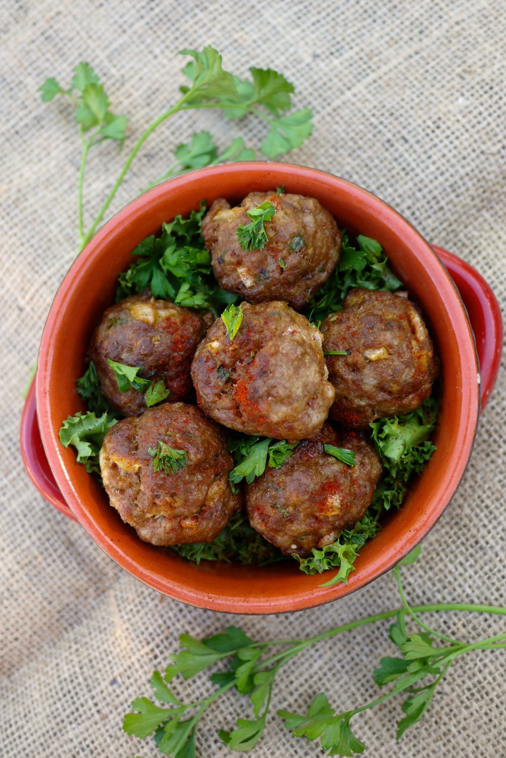Spiced lemon meatballs