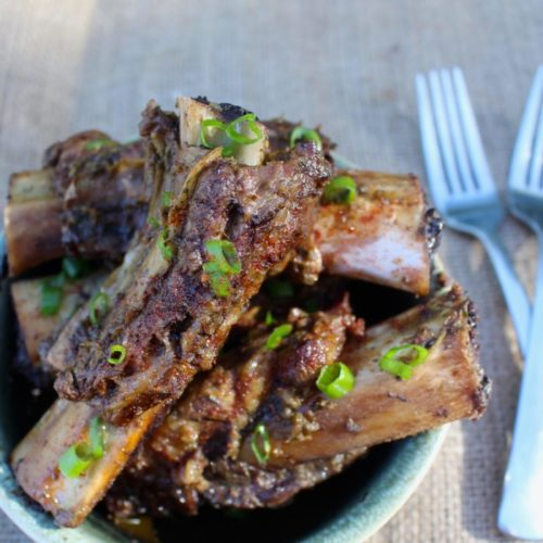 Slow Cooker Asian Beef Back Ribs