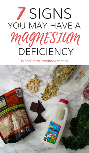 7 Signs You May Have a Magnesium Deficiency