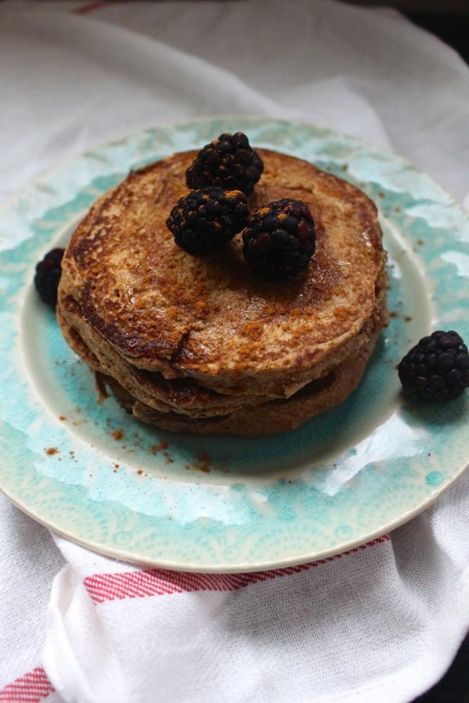 Cinnamon Plantain Pancakes