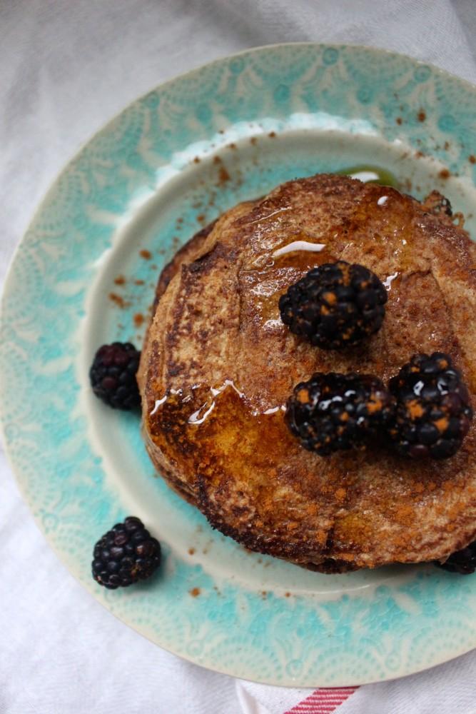 Paleo Cinnamon Plantain Pancakes