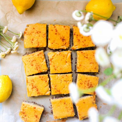 Gluten Free & Paleo Lemon Bars