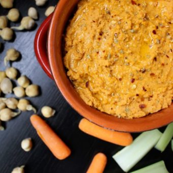 sprout chickpeas pizza hummus