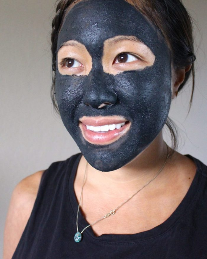 activated charcoal skin