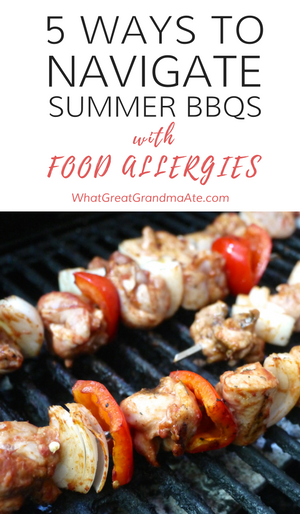 How to navigate summer BBQs with food alleriges