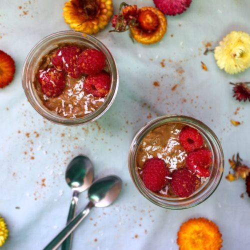 Anti-Inflammatory Turmeric Chocolate Chia Pudding