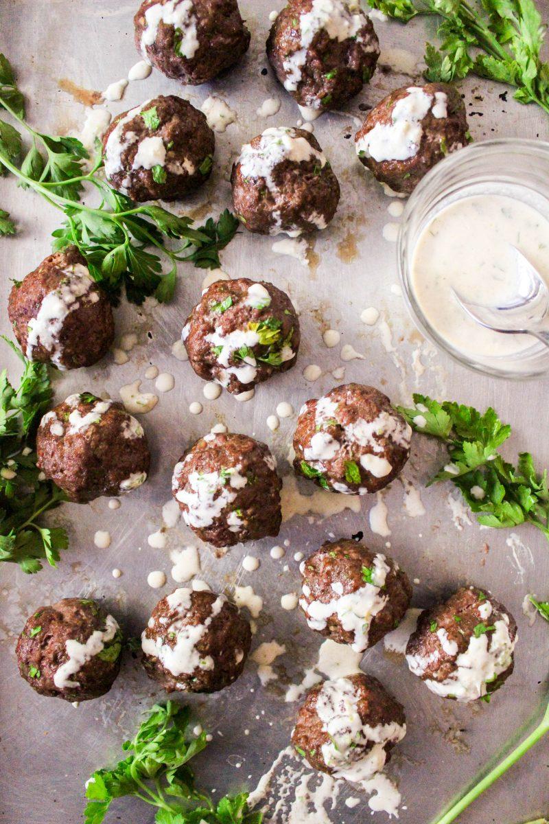 Moroccan Paleo Meatballs