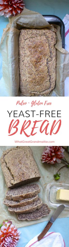 Paleo Yeast Free Bread