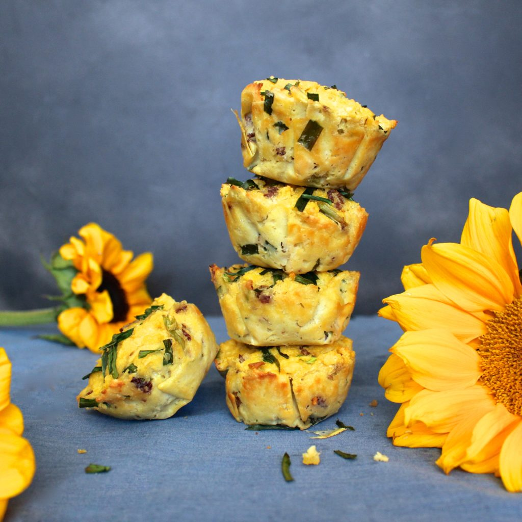 Bacon Chive Paleo Muffins