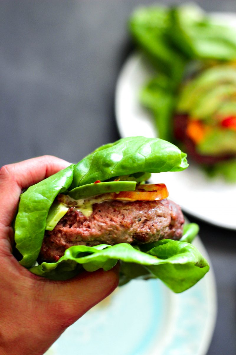 BLAT Bison Burger