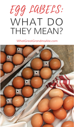 Egg Labels: What Do? They Mean