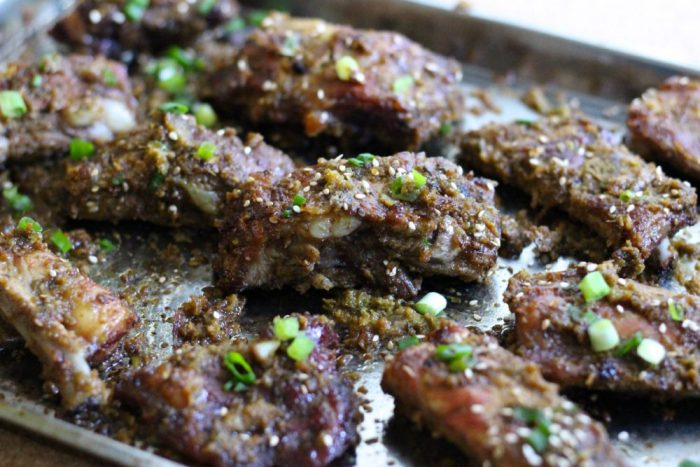 Korean BBQ Pork Spare Ribs