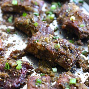 Korean Pork Ribs - Gluten Free/Paleo