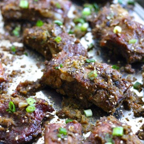 Paleo Korean Pork Ribs