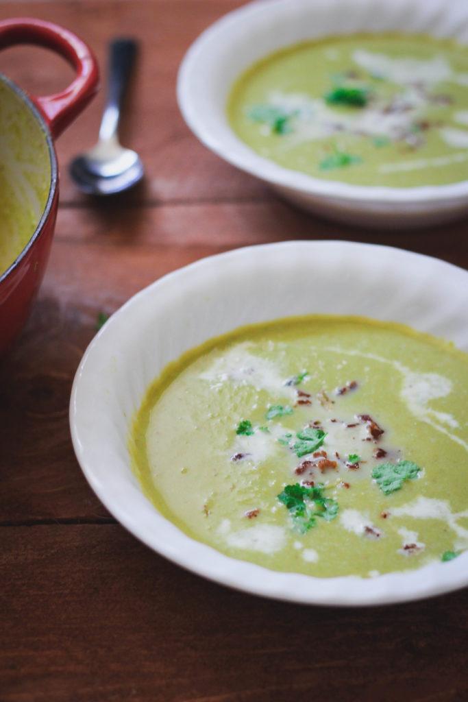 Bacon Green Bean Soup