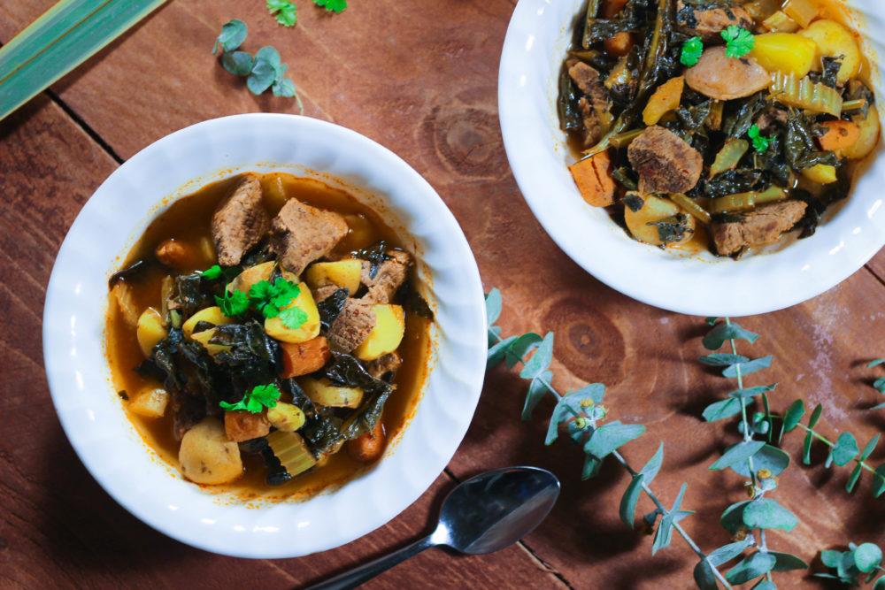 Instant Pot Spicy Beef Stew