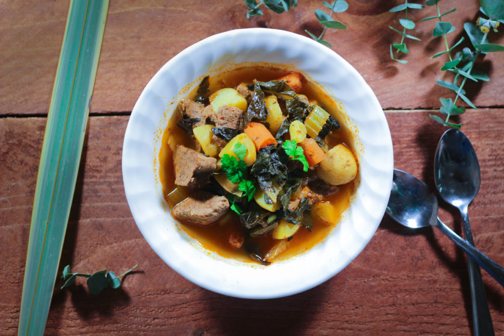 Instant Pot Spicy Beef Stew