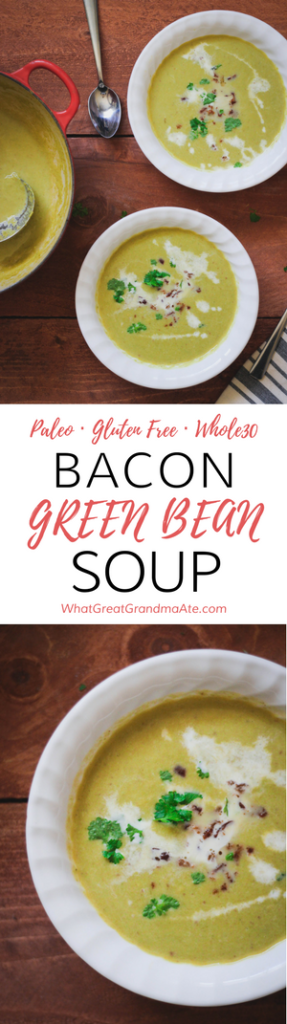 Bacon Green Bean Soup