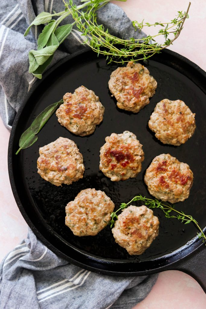 ground pork sausage recipes