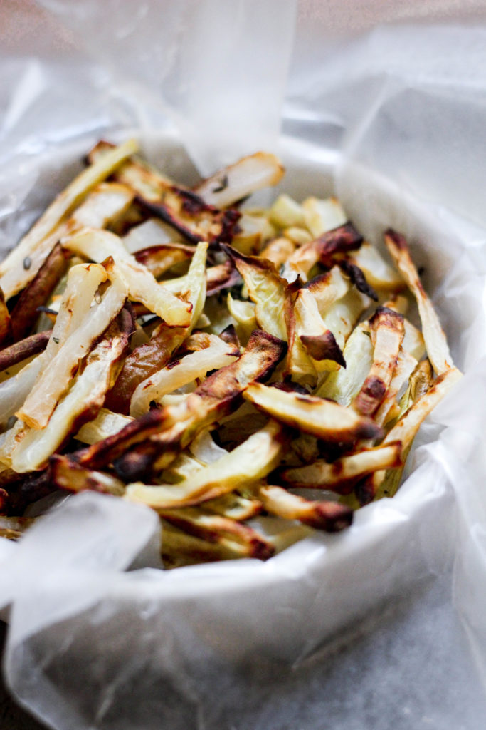 AIP Paleo Daikon Radish Fries
