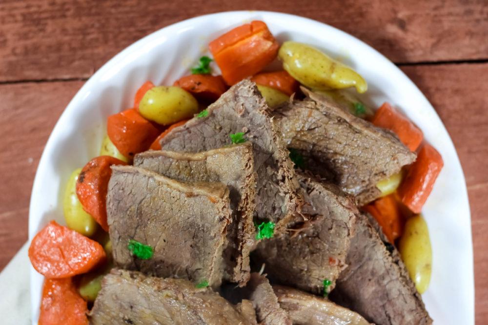 Paleo Gluten Free Slow Cooker Beef Roast
