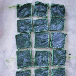 AIP Paleo No Bake Matcha Protein Bars