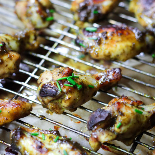 Sweet and Sour Chicken Wings (AIP, Paleo)