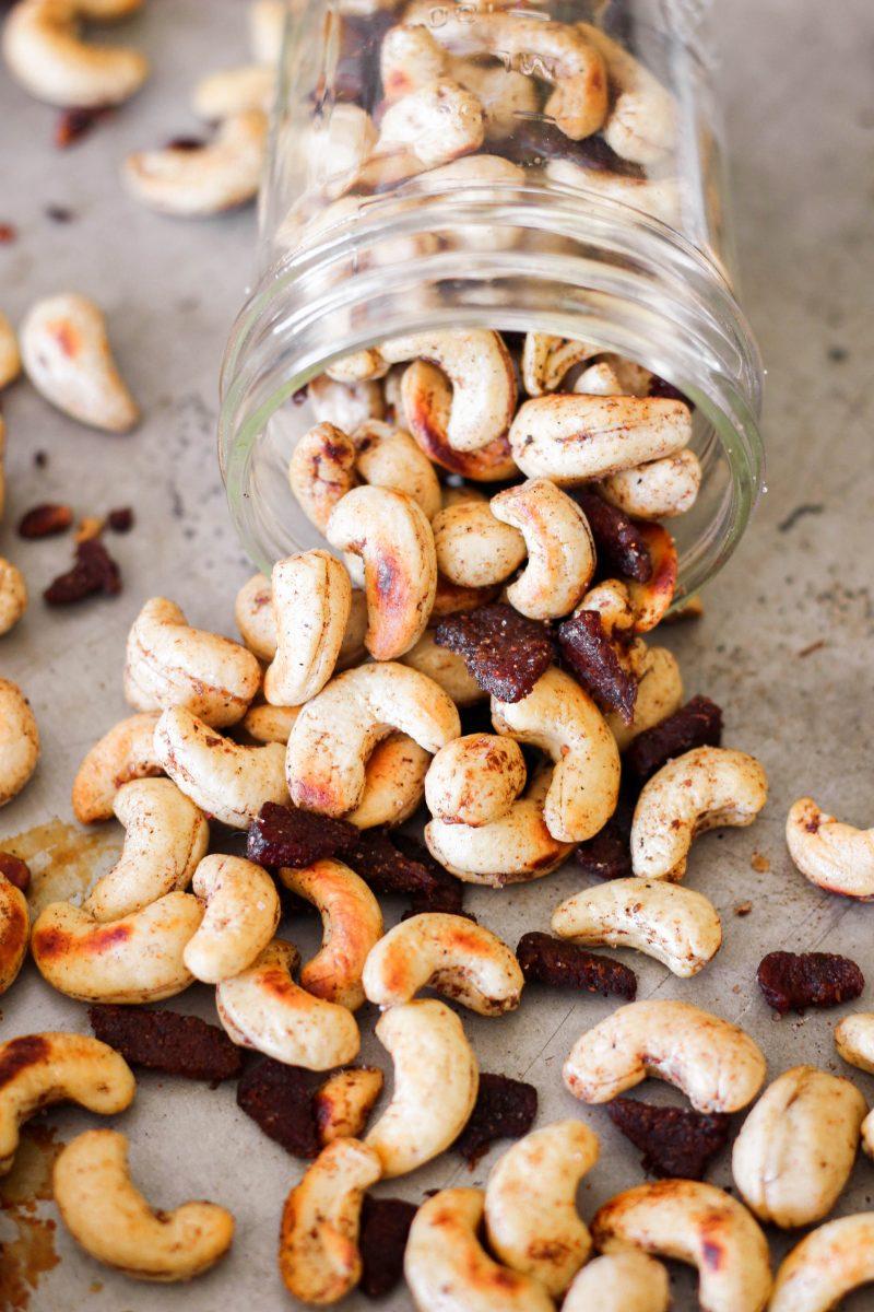 Bacon Spiced Cashews