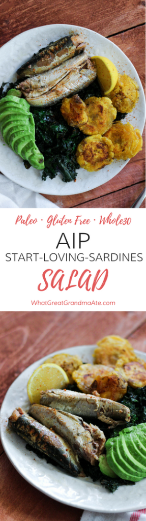 Paleo AIP Whole30 AIP Start-Loving-Sardines Salad