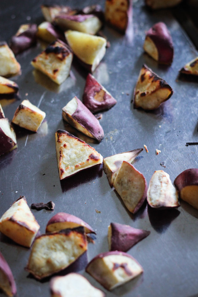 Paleo Korean Caramelized Sweet Potatoes Goguma Mattang