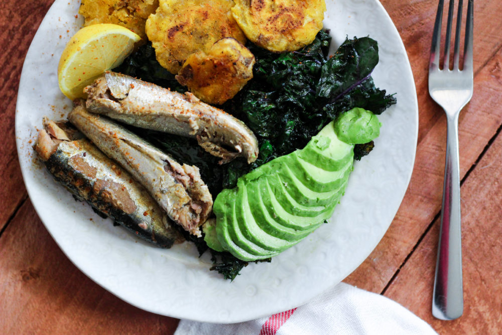 AIP Paleo Whole30 Start Loving Sardines Salad