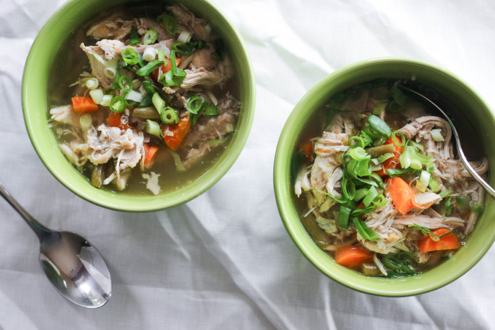 Paleo Whole30 Instant Pot Chicken Soup