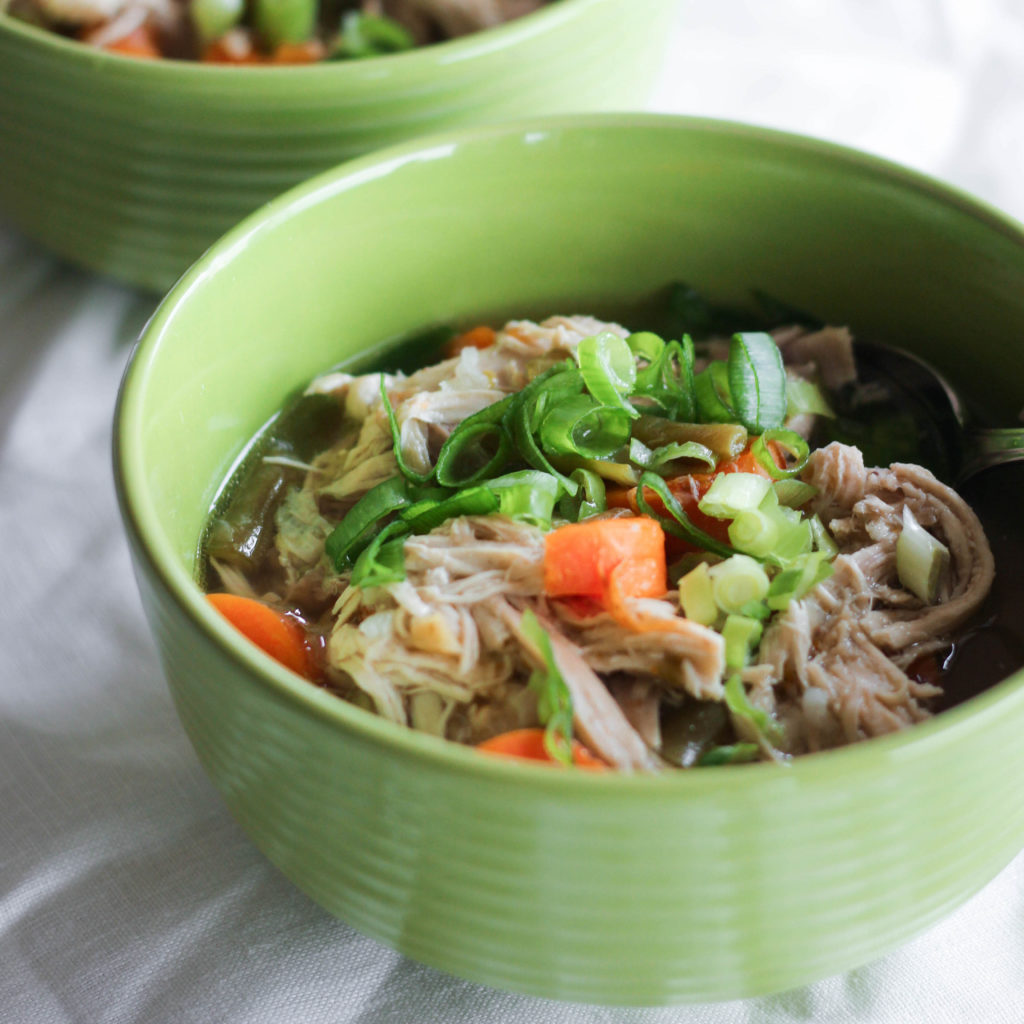 Paleo Whole30 Instant Pot Chicken Soup