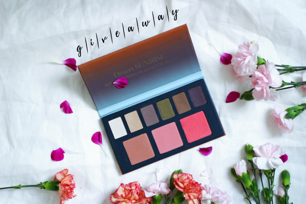 Giveaway: Beautycounter Desert Sunrise Palette