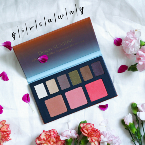 Skin Care Giveaway: Beautycounter Desert Sunrise Palette