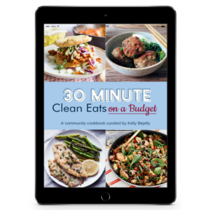 80 Budget-Friendly 30 Minute Meals + EPIC GIVEAWAY