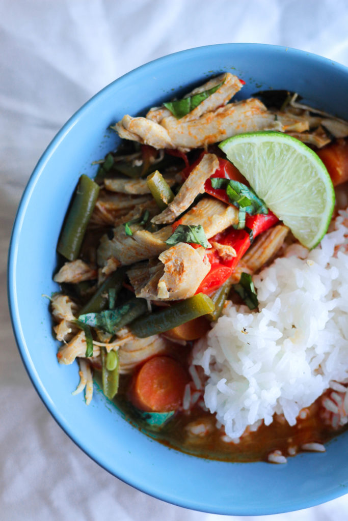Paleo Coconut Chicken Curry Instant Pot Slow Cooker