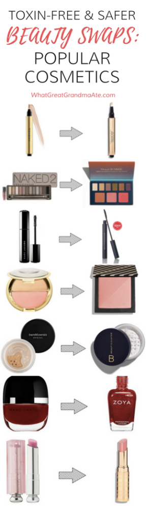 Safer Toxin-Free Skin Care Makeup Swaps