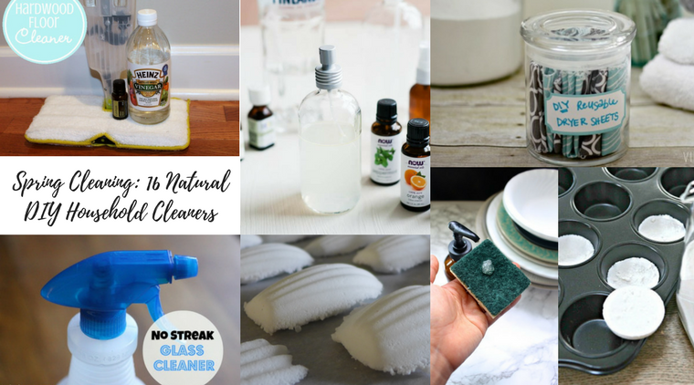 16 Natural DIY Household Cleaners