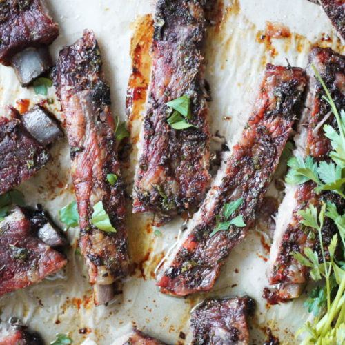 Paleo Ranch Pork Ribs (Whole30, Keto, AIP)