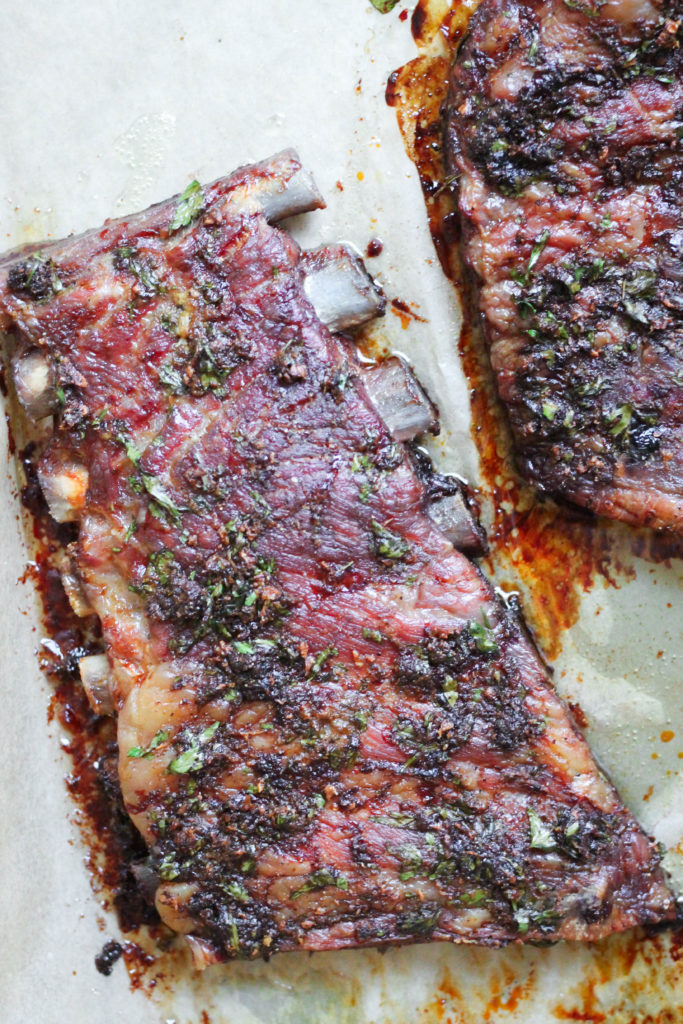 Paleo Ranch Pork Ribs