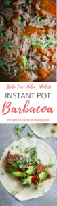Paleo Gluten Free Instant Pot Barbacoa