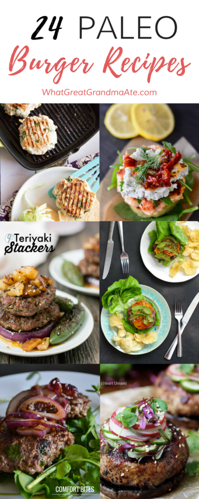 24 Paleo Burger Recipes