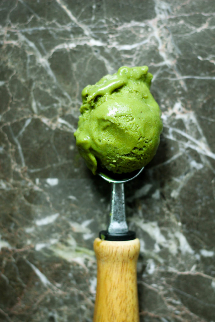 3 Ingredient Matcha Ice Cream Paleo Vegan