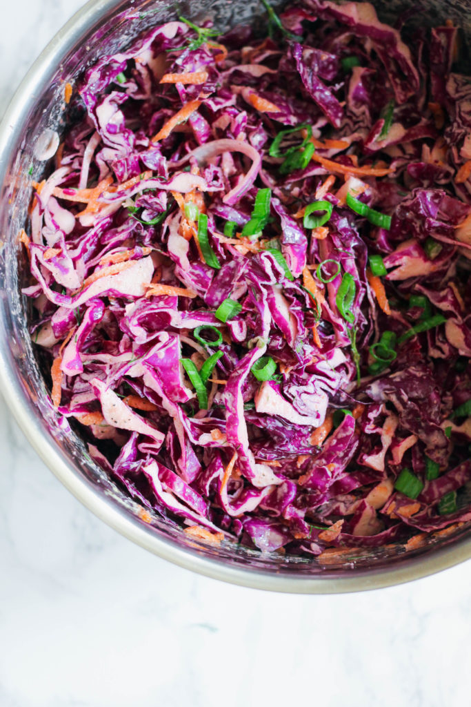 Simple Paleo Coleslaw