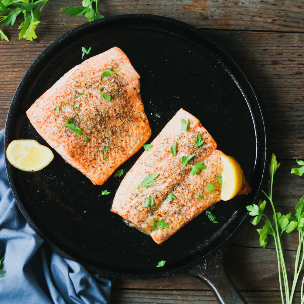 5 Minute Broiled Salmon What Great Grandma Ate